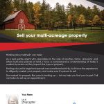 Multi-acreage property