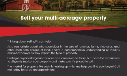 FARM: Sell your multi-acreage property
