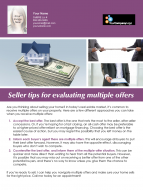 FARM: Seller tips for evaluating multiple offers