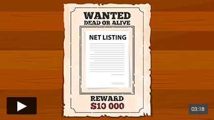 Net Listings for Sellers