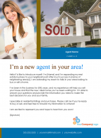 FARM: I'm a new agent in your area!