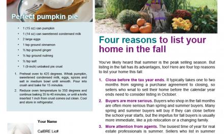 FARM: October Newsletter – D4