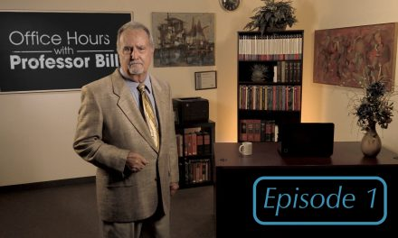 Office Hours with Professor Bill: Episode 1