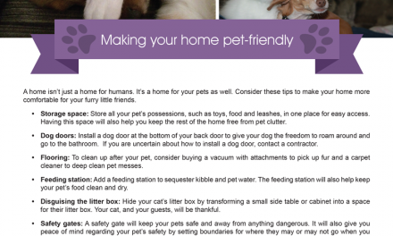 FARM: Making your home pet-friendly