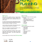 Picnic planning