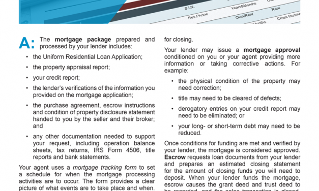 Client Q&A: I submitted a mortgage application — what now?