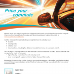 Price your commute