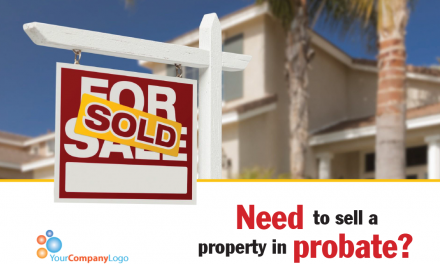 Need to sell a property in probate? (Postcard)