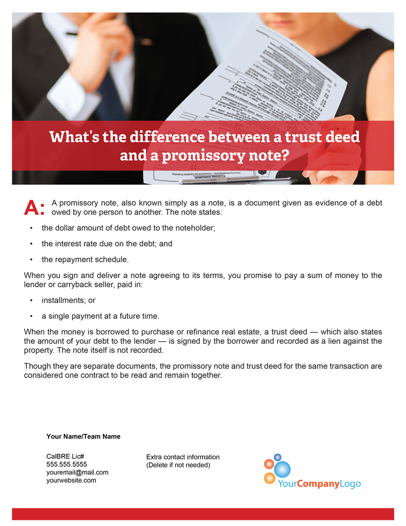 Promissory-note-vs-trust-deed