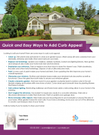 FARM: Quick and Easy Ways to Add Curb Appeal