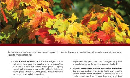 FARM: Pre-autumn home fixes