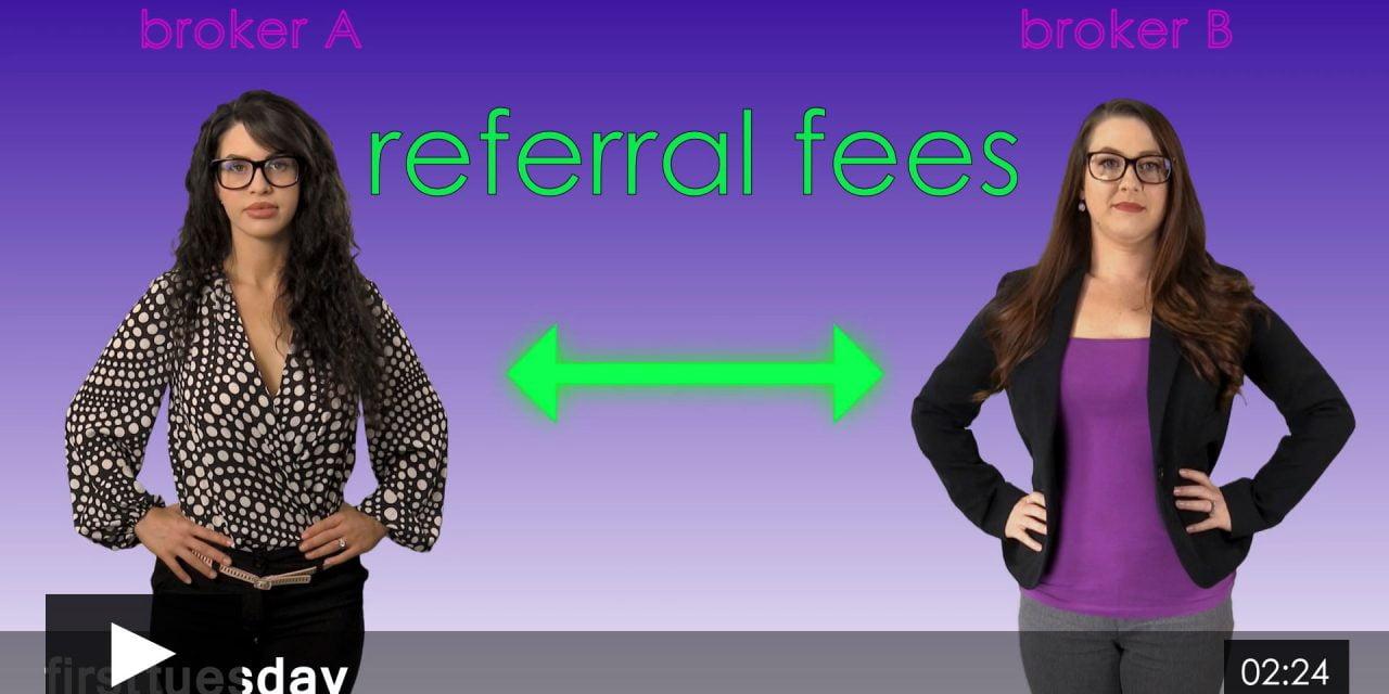Referral Fees Between Brokerages