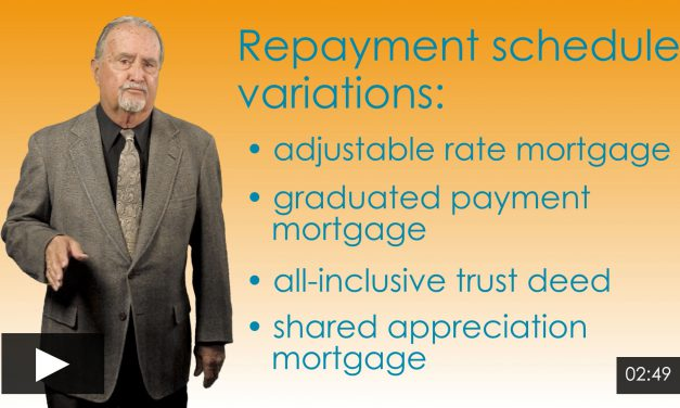 Repayment Variations: Adjustable Rate Mortgage