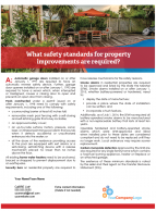Client Q&A: What safety standards for property improvements are required?