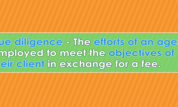 Word-of-the-Week: Due diligence