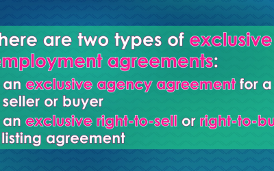 Word-of-the-Week: Exclusive-right-to-sell and right-to-buy listings