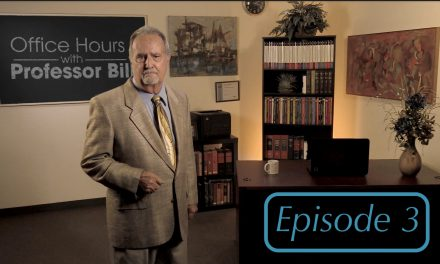 Office Hours with Professor Bill: Episode 3