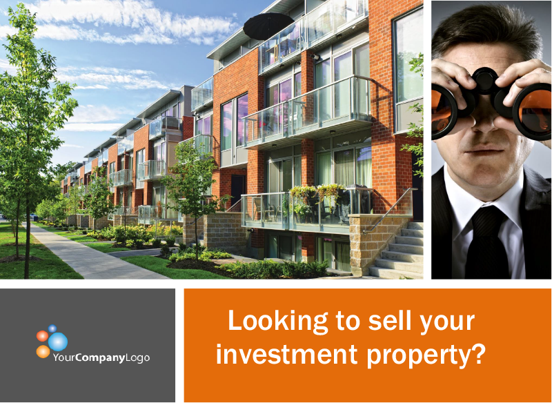 FARM: Looking to sell your investment property? (Postcard)
