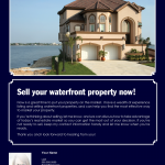 Waterfront property