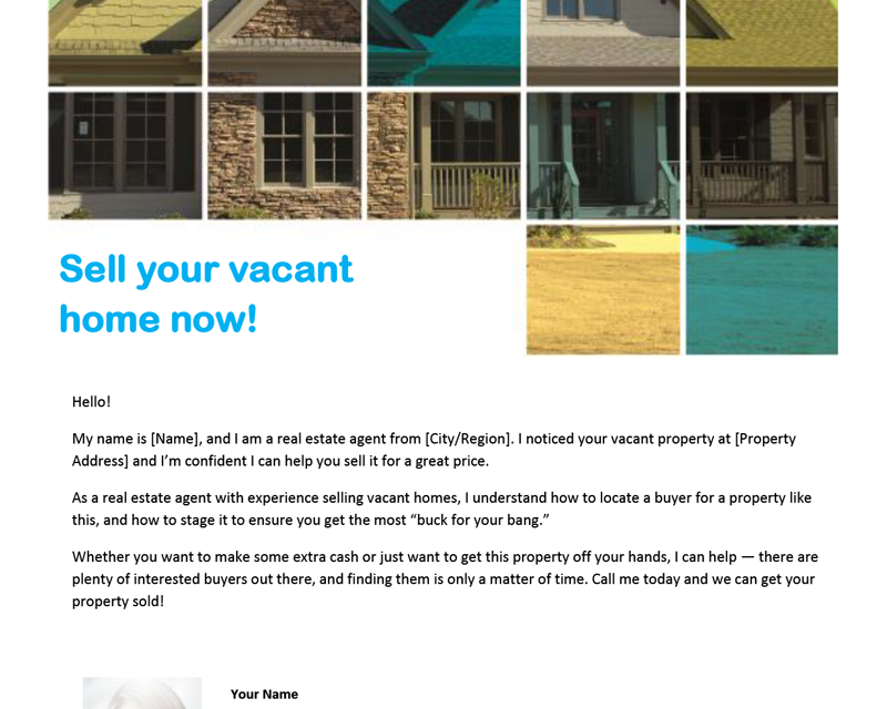 FARM: Sell your vacant home now!