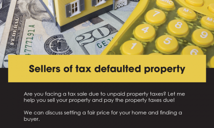 FARM: Sellers of tax defaulted property