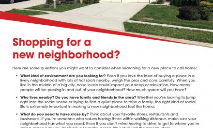 FARM: Shopping for a new neighborhood?