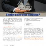 Sinking under mortgage