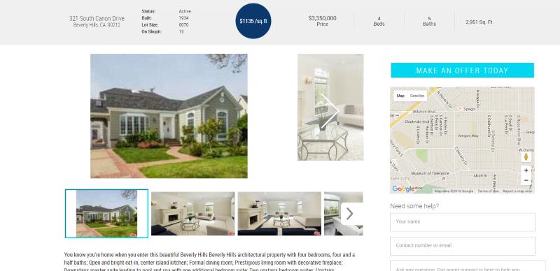Skupit home listing