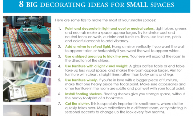 FARM: 8 big decorating ideas for small spaces