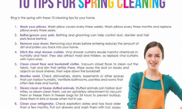 FARM: 10 tips for spring cleaning