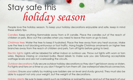 FARM: Stay safe this holiday season
