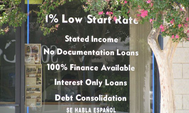 Subprime mortgages making a come back