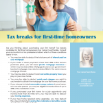 Tax breaks for homeowners
