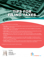 FARM: Tips for filing taxes