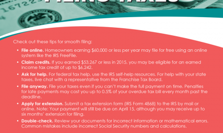 FARM: Tips for filing taxes