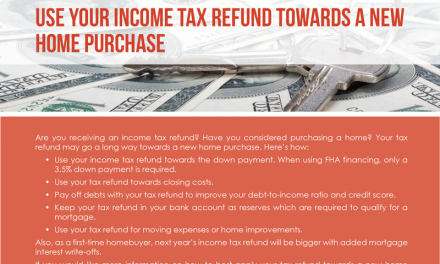 FARM: Use your income tax refund towards a new home purchase