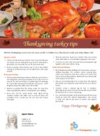 FARM: Thanksgiving turkey tips