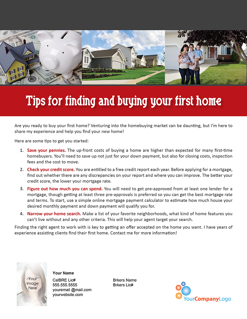 Farm tips for finding and buying your first home first for Tips before buying a house