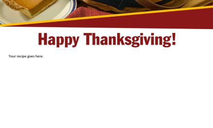 FARM: Happy Thanksgiving