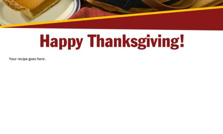 FARM: Happy Thanksgiving