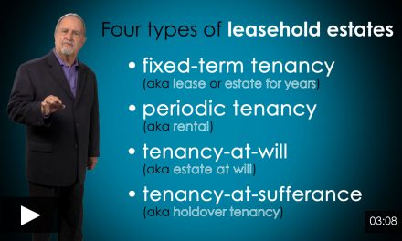 Types of Leaseholds