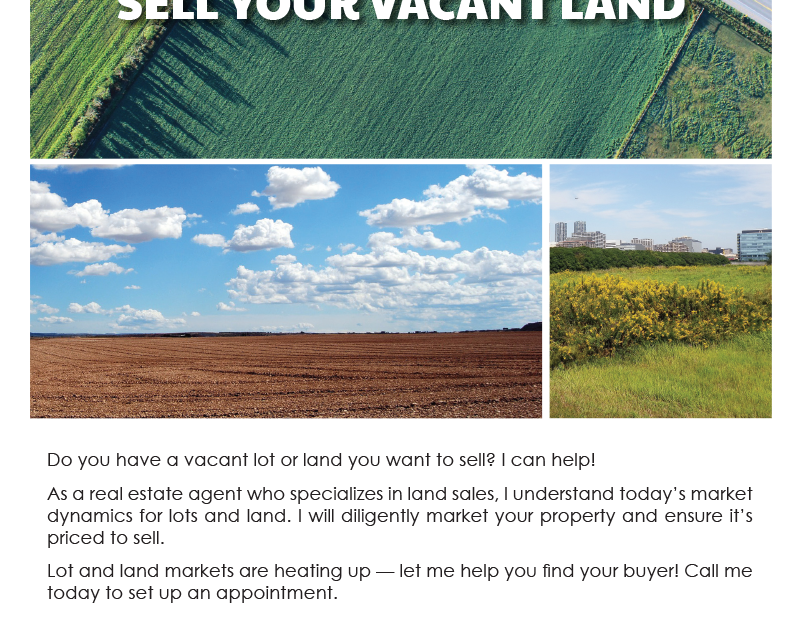 FARM: Sell your vacant land