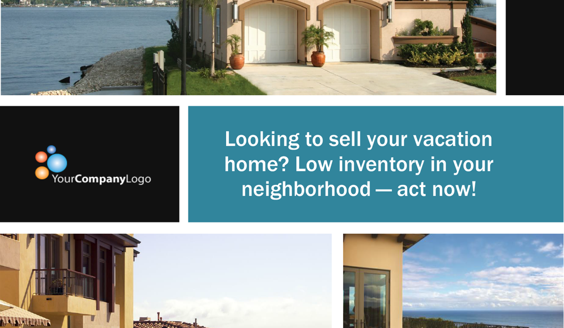 FARM: Looking to sell your beach vacation home? (Postcard)
