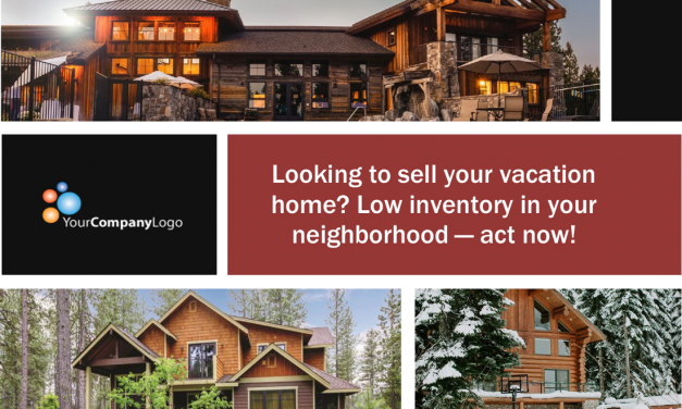 FARM: Looking to sell your mountain vacation home? (Postcard)