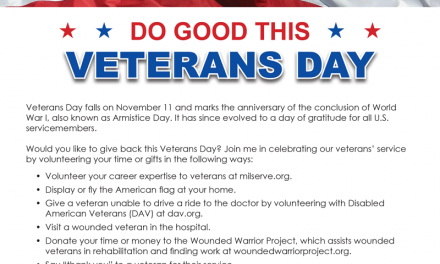 FARM: Do good this Veterans Day