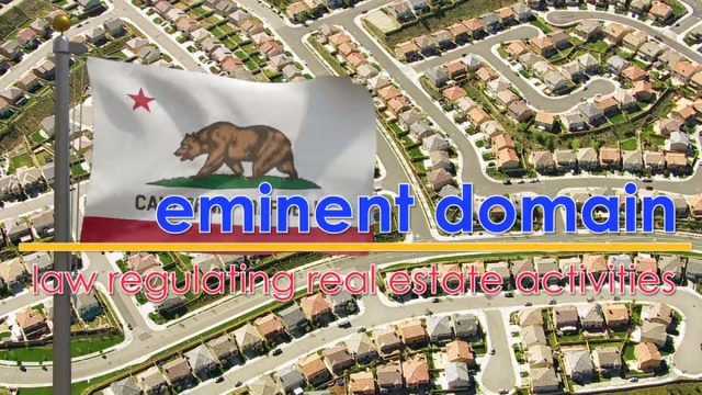 Word-of-the-Week: Eminent Domain