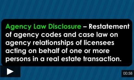 Word-of-the-Week: Agency Law Disclosure