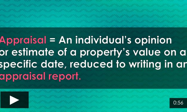 Word-of-the-Week: Appraisal