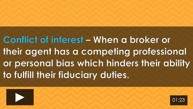 Word-of-the-Week: Conflict of Interest