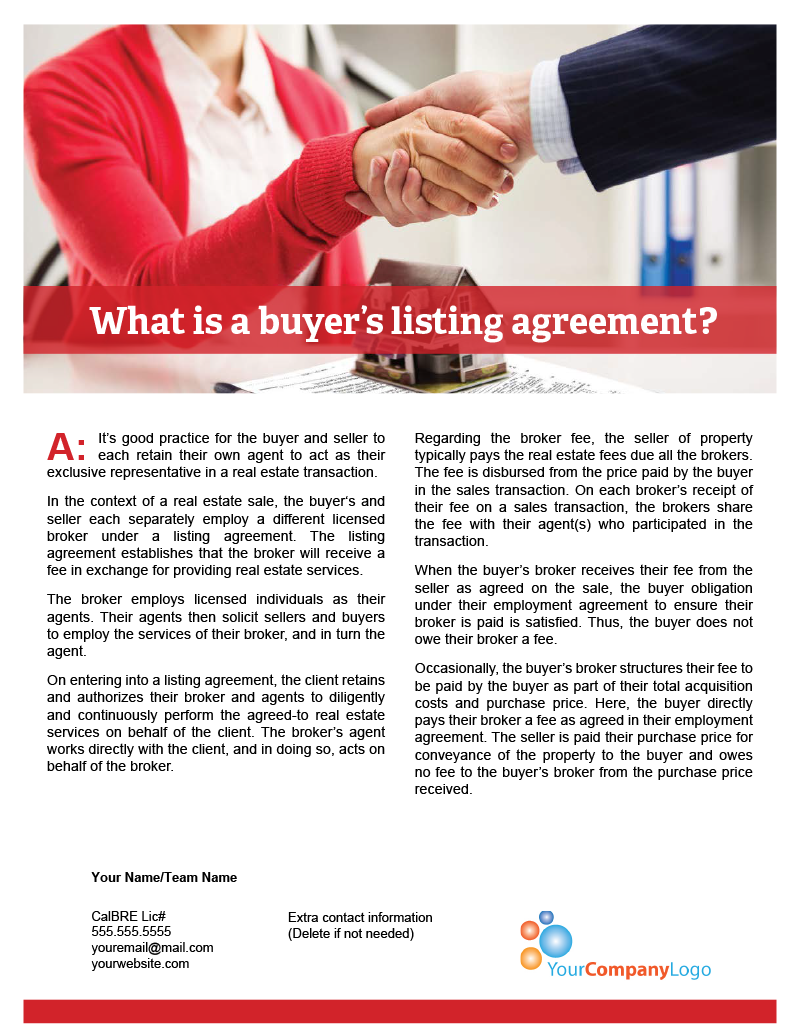 What-is-a-buyers-listing-agreement